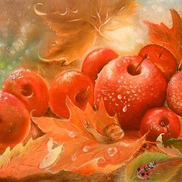 Картины и панно. Ярмарка Мастеров - ручная работа Картины: Золотая осень. Handmade.