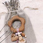 Грызунки ручной работы. Ярмарка Мастеров - ручная работа Грызунок «Цветочек». Handmade.