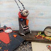 Куклы и игрушки ручной работы. Ярмарка Мастеров - ручная работа Сердешный заяц. Handmade.