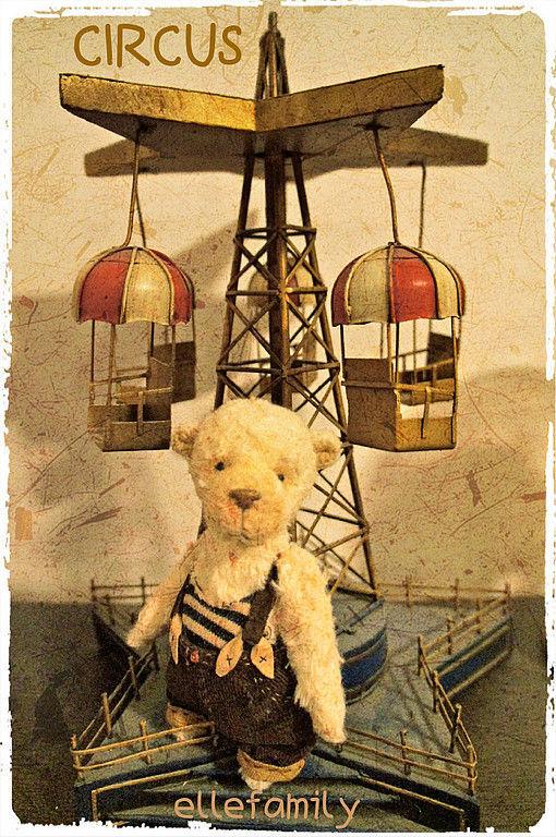 Мишки Тедди ручной работы. Ярмарка Мастеров - ручная работа. Купить Мишка Жюль CIRCUS. Handmade. Тедди, авторская работа