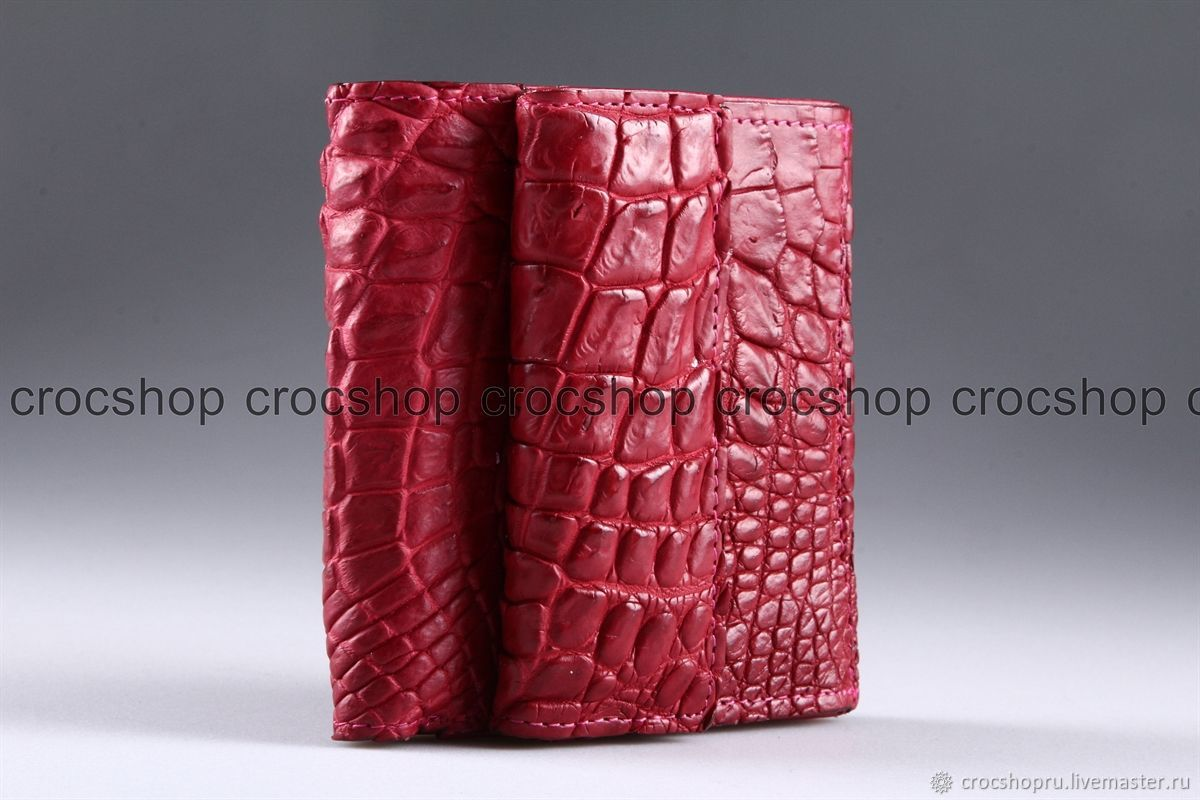 Wallet crocodile leather IMA0123H5, Wallets, Moscow,  Фото №1