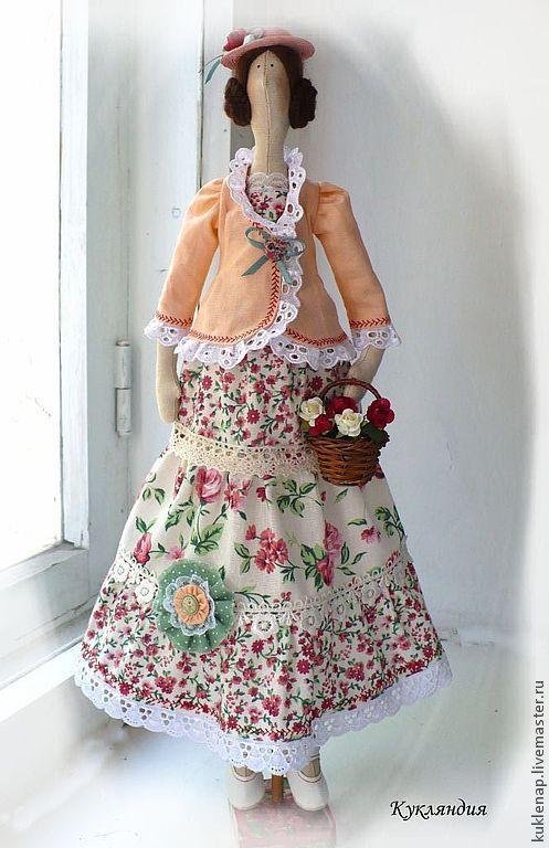 Куклы Тильды ручной работы. Ярмарка Мастеров - ручная работа. Купить Кукла Мила по мотивам тильды. Handmade. Тильда кукла