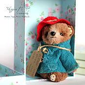 Куклы и игрушки ручной работы. Ярмарка Мастеров - ручная работа Падди. Мини мишка тедди 11см. Handmade.