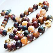 Фен-шуй и эзотерика handmade. Livemaster - original item Rosary Gold Picasso Jasper. Handmade.