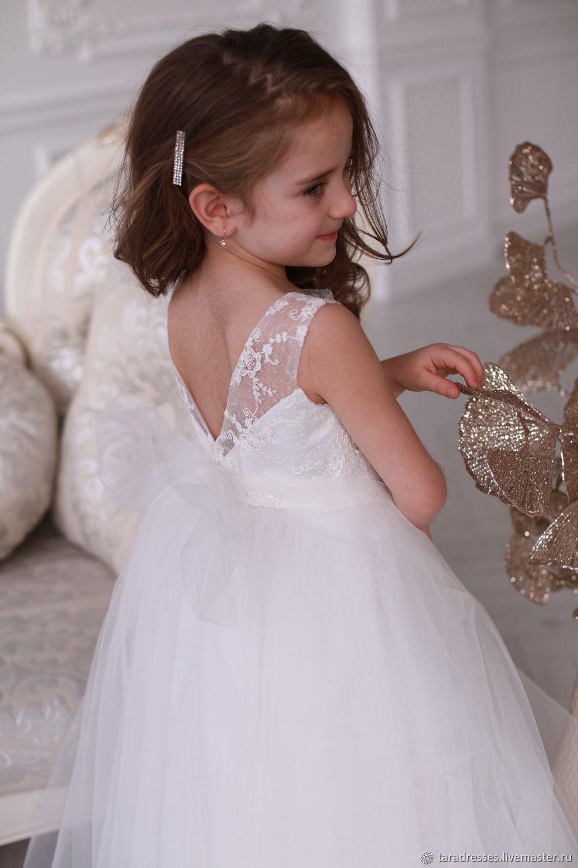 Нарядное праздничное платье для девочки Мелания