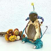 Куклы и пупсы ручной работы. Ярмарка Мастеров - ручная работа Авторская кукла «Музыкант». Handmade.