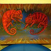 """Картины и панно ручной работы. Ярмарка Мастеров - ручная работа пастель """" Экзотика"""". Handmade."""