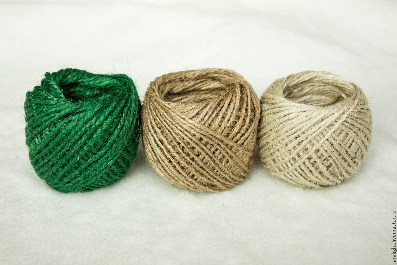 джутовая верёвка фото