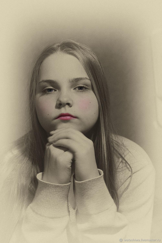 Портрет в стиле Винтаж, Фотокартины, Москва,  Фото №1