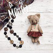 Куклы и игрушки ручной работы. Ярмарка Мастеров - ручная работа Кошка Тедди Мила. Handmade.