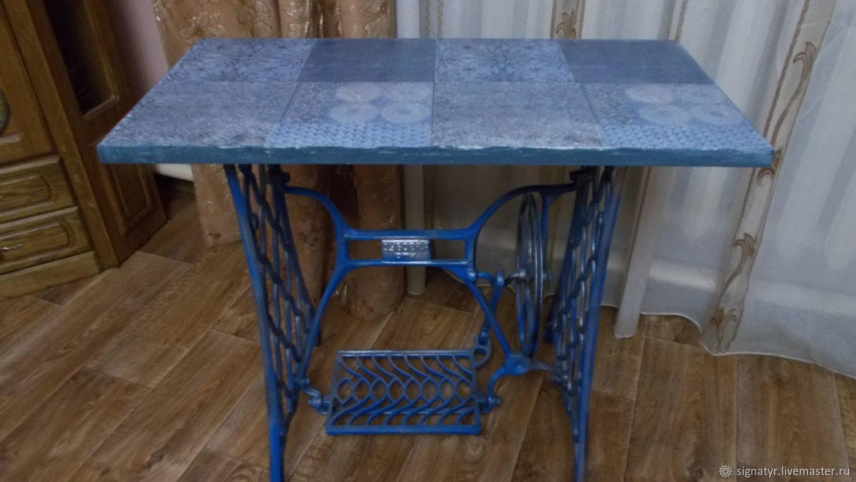 Table Tunisia 3 on cast iron frame, Tables, Orenburg,  Фото №1