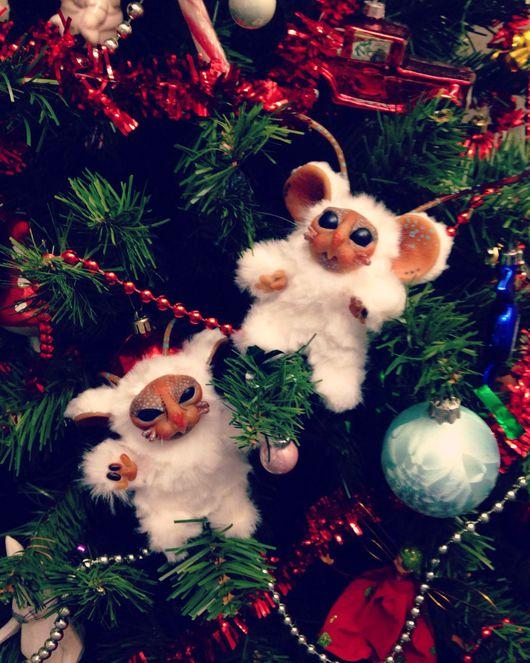 Куклы и игрушки ручной работы. Ярмарка Мастеров - ручная работа. Купить Мышки. Инопланетные мышки-неразлучники.. Handmade. Мышка