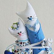 Подарки к праздникам ручной работы. Ярмарка Мастеров - ручная работа Подарок на свадьбу. Мадам и месье Скай.. Handmade.