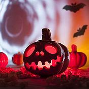 Подарки к праздникам handmade. Livemaster - original item Ceramic pumpkin. Handmade.