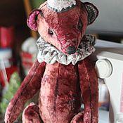 Мягкие игрушки ручной работы. Ярмарка Мастеров - ручная работа Кики - тартюрный медведь. Handmade.