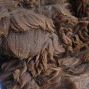 Материалы для творчества handmade. Livemaster - original item Alpaca Waka mahogany #1284. Handmade.