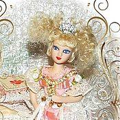 Dolls handmade. Livemaster - original item Princess on a pea - a fairy doll. Handmade.