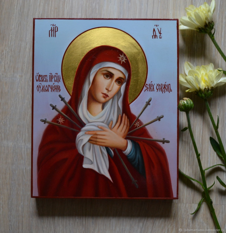 Икона богородица умягчение злых сердец фото