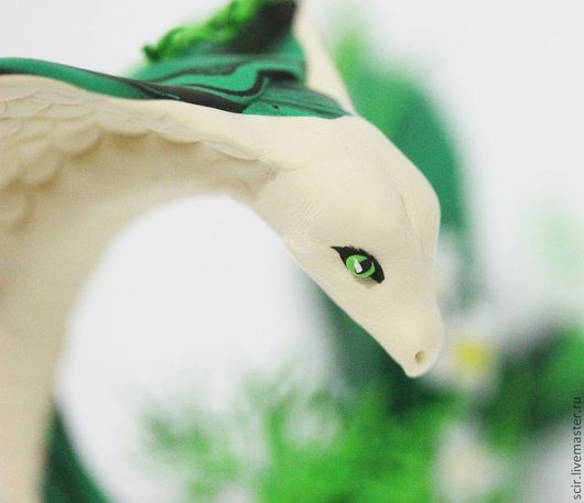 """Игрушки животные, ручной работы. Ярмарка Мастеров - ручная работа. Купить фигурка """"Змея с ромашками"""" (змея игрушка, змея символ года). Handmade."""