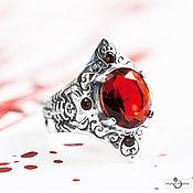 Украшения handmade. Livemaster - original item Silver ring the SCORPION KING. Handmade.