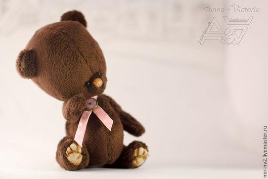 мишка Шоколадка. 16 см. игрушки от мира Воображариум ( Voobrazharium)
