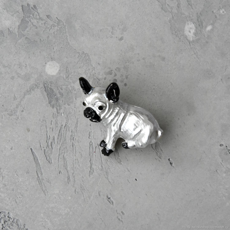 Brooch Bulldog, Brooches, Moscow,  Фото №1