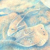 Картины и панно ручной работы. Ярмарка Мастеров - ручная работа Песнь каменного сердца...Картина-принт на холсте.. Handmade.