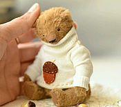 Куклы и игрушки ручной работы. Ярмарка Мастеров - ручная работа Мишка тедди.Медведь Женька. Handmade.