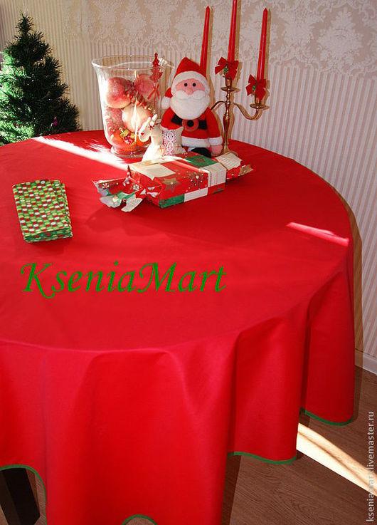 """Новый год 2017 ручной работы. Ярмарка Мастеров - ручная работа. Купить Комплект для сервировки стола""""Классический"""". Handmade. Ярко-красный"""