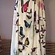 """Платья ручной работы. Платье """"Бабочки 3d"""". Юлия Блейх (juliableykh). Ярмарка Мастеров. Бабочки, платье на вечеринку"""