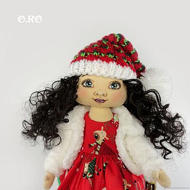 Куклы и игрушки ручной работы. Ярмарка Мастеров - ручная работа Интерьерная новогодняя кукла. Handmade.
