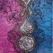 Одежда ручной работы. Ярмарка Мастеров - ручная работа Блузка Пейсли батик из натурального шелка. Handmade.