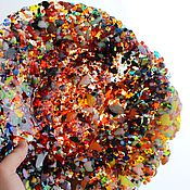 """Посуда ручной работы. Ярмарка Мастеров - ручная работа Тарелка """" Брызги 2.0 """" фьюзинг. Handmade."""