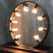 Для дома и интерьера handmade. Livemaster - original item Make-up mirror ZODIAC. Handmade.