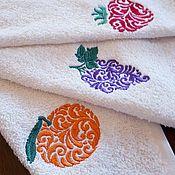 Для дома и интерьера handmade. Livemaster - original item Towels Juicy fruit. Handmade.