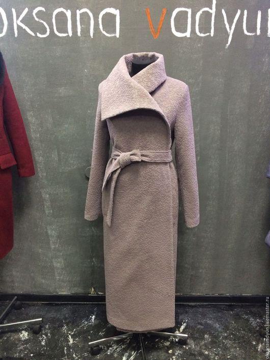 Верхняя одежда ручной работы. Ярмарка Мастеров - ручная работа. Купить Пальто зимнее Winter- Spitze. Handmade. Разноцветный