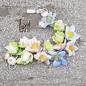 """Украшения ручной работы. Ярмарка Мастеров - ручная работа браслет """"В цвету"""". Handmade."""