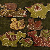 Сувениры и подарки ручной работы. Ярмарка Мастеров - ручная работа драконы. Handmade.