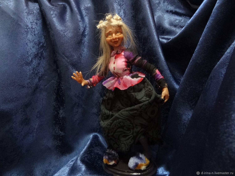 Кукла баба Яга. Ягодка, Коллекционные куклы, Красноярск, Фото №1