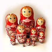 Русский стиль handmade. Livemaster - original item Matreshka 10 places.