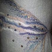 Одежда ручной работы. Ярмарка Мастеров - ручная работа Жилет на завязках. Handmade.