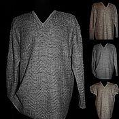 Одежда handmade. Livemaster - original item 100% Linen.Jumper