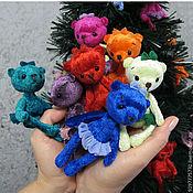 """Куклы и игрушки ручной работы. Ярмарка Мастеров - ручная работа мини мишки """"Конфетти"""". Handmade."""