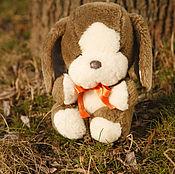 Куклы и игрушки ручной работы. Ярмарка Мастеров - ручная работа Плюшевая собака. Handmade.