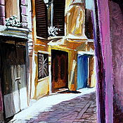 "Картины и панно handmade. Livemaster - original item The painting ""Somewhere in Spain"". Handmade."