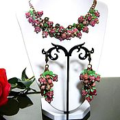 Jewelry Sets handmade. Livemaster - original item EARRING SET NECKLACES