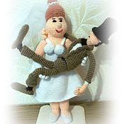 Куклы и игрушки ручной работы. Ярмарка Мастеров - ручная работа Миниатюра - жених и невеста.. Handmade.