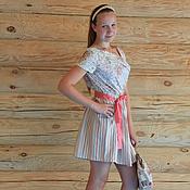 Одежда ручной работы. Ярмарка Мастеров - ручная работа платье №6. Handmade.