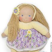 Куклы и игрушки ручной работы. Ярмарка Мастеров - ручная работа вальдорфская кукла Солнышко, 38 см.. Handmade.