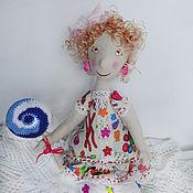 Куклы и игрушки ручной работы. Ярмарка Мастеров - ручная работа Куколка Сластена Мармеладовна. Handmade.